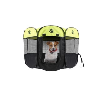 Unique Petz Portable Collapsible Dog Playpen