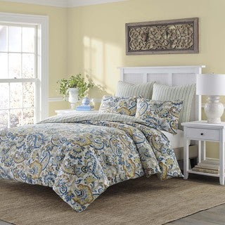 Stone Cottage Tuscany Cotton Duvet Cover Set, Full/Queen