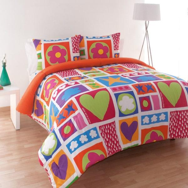 Agatha Ruiz de la Prada Icon Patch Cotton Comforter Set