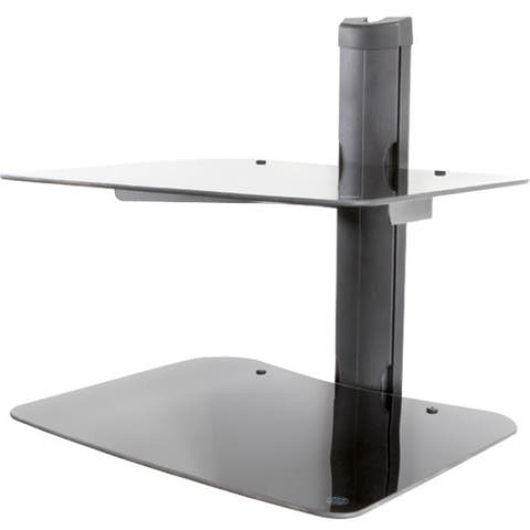 MountWerks MWS2 Mounting Shelf for Cable Box, DVD, Satellite Box, Gaming Console