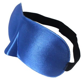 3D Comfort Sleep Eye Mask with Adjustable Strap (Blue or Pink)