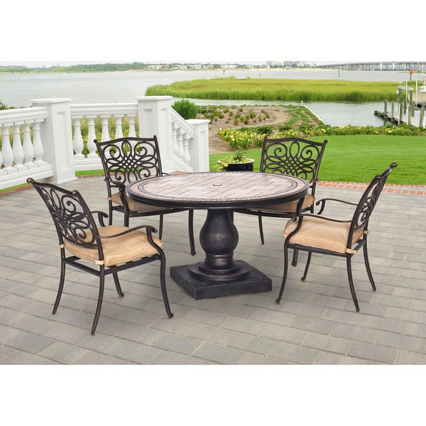 Hanover Outdoor MONDN5PC Monaco 5-piece Dining Set