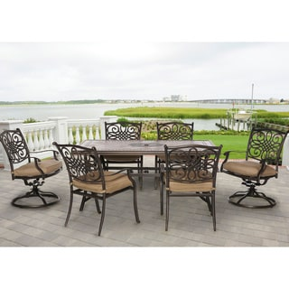 Hanover Outdoor Monaco 7-piece Dining Set
