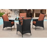Hanover STRALDN5PCSQ-RST Strathmere Allure 5-piece Outdoor Dining Set
