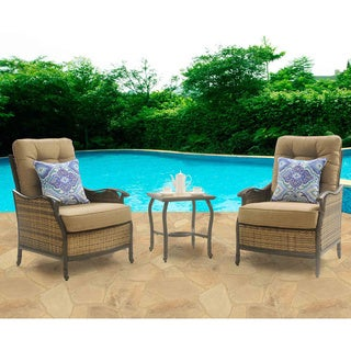 Hanover Outdoor HUDSONSQ3PC Hudson Square 3-piece Lounge Set