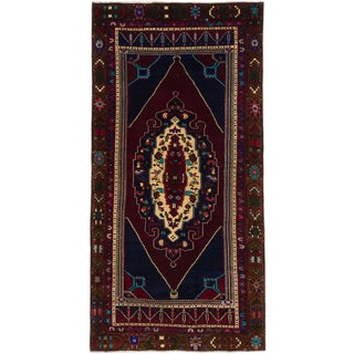 eCarpetGallery Multicolored Wool Hand-knotted Konya Anatolian Rug (4'8 x 8'10)