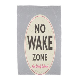 30 x 60-inch Nap Zone Word Print Beach Towel