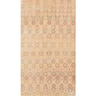 eCarpetGallery Sunwash Brown/Ivory Wool Hand-knotted Anatolian Rug (5'1 x 9'0)