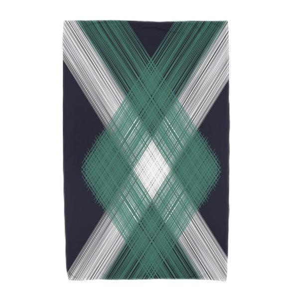 30 x 60-inch Geometric 1 Geometric Print Beach Towel