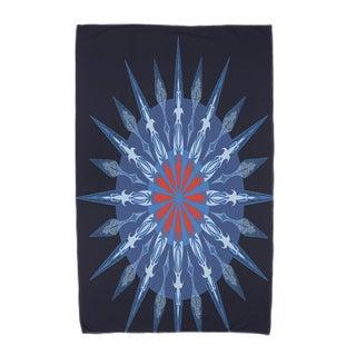 30 x 60-inch Sea Wheel Geometric Print Beach Towel