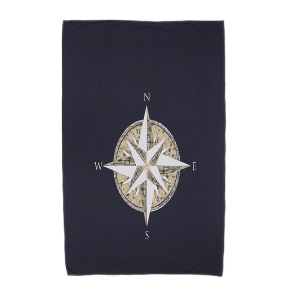 30 x 60-inch Compass Geometric Print Beach Towel