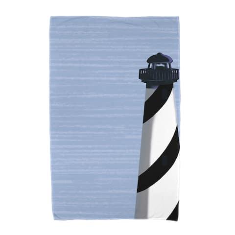 36 x 72-inch Light House Geometric Print Beach Towel