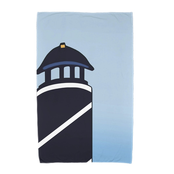 30 x 60-inch Safe Harbor Geometric Print Beach Towel
