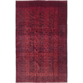 ecarpetgallery Royal Baluch Red Wool Hand-knotted Rug (6'2 x 9'7)