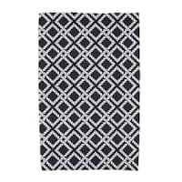 30 x 60-inch Rope Rigging Geometric Print Beach Towel