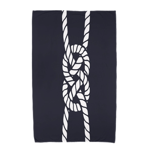 30 x 60-inch Carrick Bend Geometric Print Beach Towel