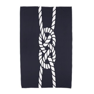 30 x 60-inch Carrick Bend Geometric Print Beach Towel (Option: Beige)
