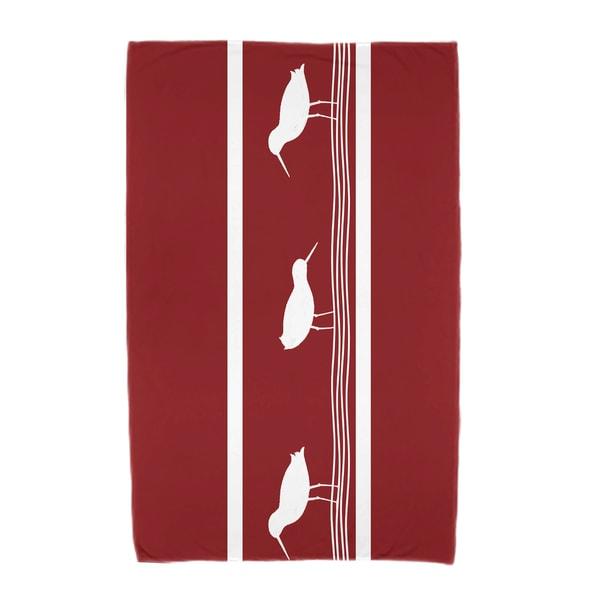30 x 60-inch Birdwalk Animal Print Beach Towel