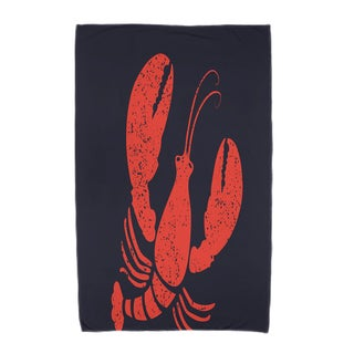30 x 60-inch Lobster Animal Print Beach Towel