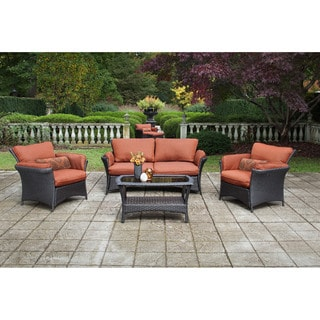 Hanover Outdoor Strathmere Allure 4-piece Lounge Set