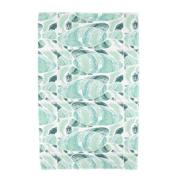 30 x 60-inch Fishwich Animal Print Beach Towel