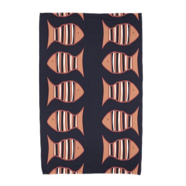 30 x 60-inch Something's Fishy Animal Print Beach Towel