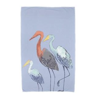 30 x 60-inch Sunbathers Animal Print Beach Towel