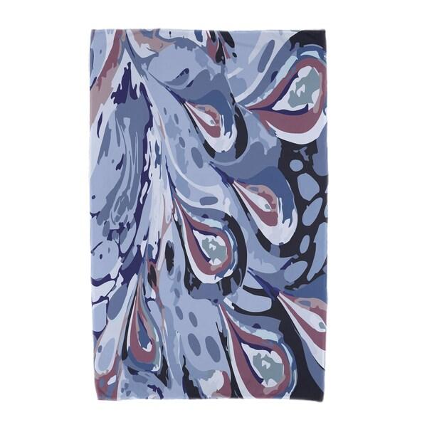 30 x 60-inch Boho Splash Geometric Print Beach Towel