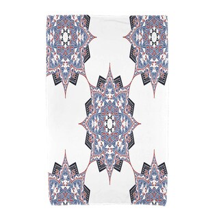 30 x 60-inch Rhapsody Geometric Print Beach Towel