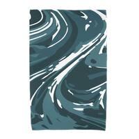 30 x 60-inch Marble Geometric Print Beach Towel