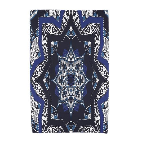 30 x 60-inch Shawl Geometric Print Beach Towel