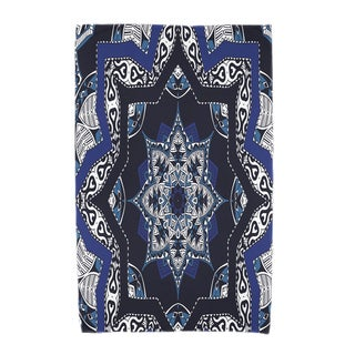 30 x 60-inch Shawl Geometric Print Beach Towel