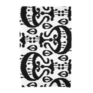 30 x 60-inch Ikat Geometric Print Beach Towel