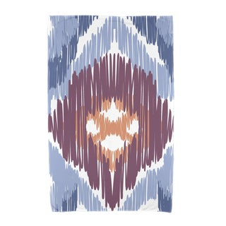 36 x 72-inch Original Geometric Print Beach Towel