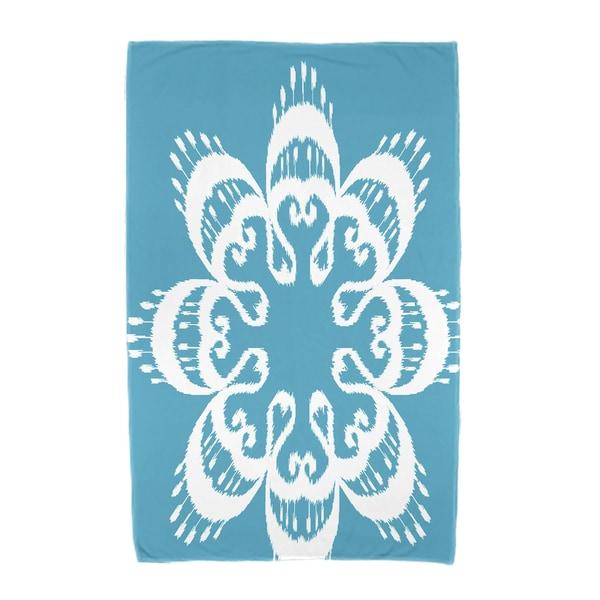30 x 60-inch Ikat Mandala Geometric Print Beach Towel