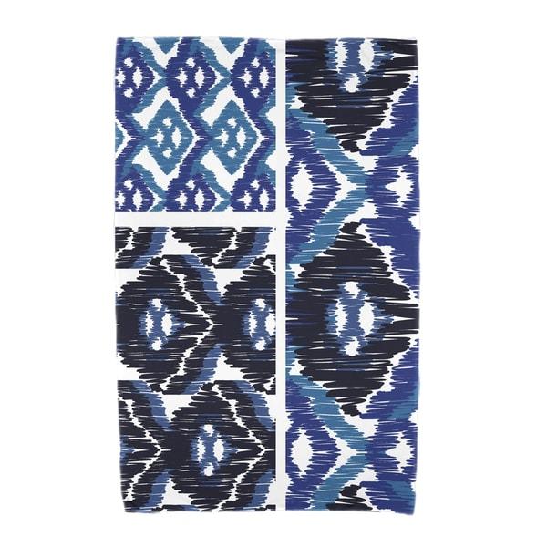 30 x 60-inch Free Spirit Geometric Print Beach Towel