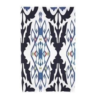 30 x 60-inch Bombay Medallion Geometric Print Beach Towel