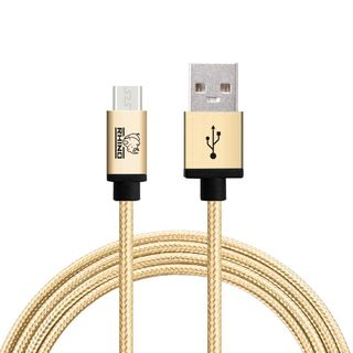 Rhino 10-foot Certified Single Micro USB Cable for Samsung, Nexus, LG, Motorola, Android Smartphones - 2 Pack