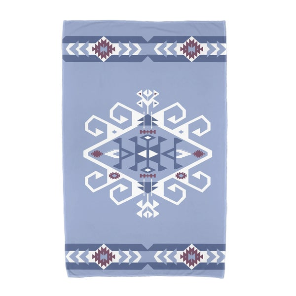 30 x 60-inch Jodhpur Border 3 Geometric Print Beach Towel