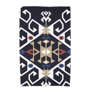 30 x 60-inch Jodhpur Medallion Geometric Print Beach Towel