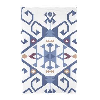 30 x 60-inch Jodhpur Medallion 2 Geometric Print Beach Towel