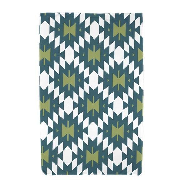 30 x 60-inch Jodhpur Kilim 2 Geometric Print Beach Towel