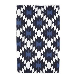 30 x 60-inch Jodhpur Kilim Geometric Print Beach Towel