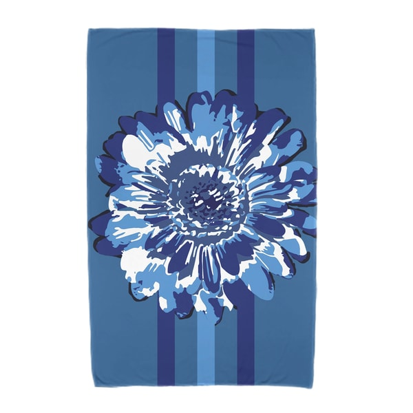 30 x 60-inch Flower Child 2 Floral Print Beach Towel