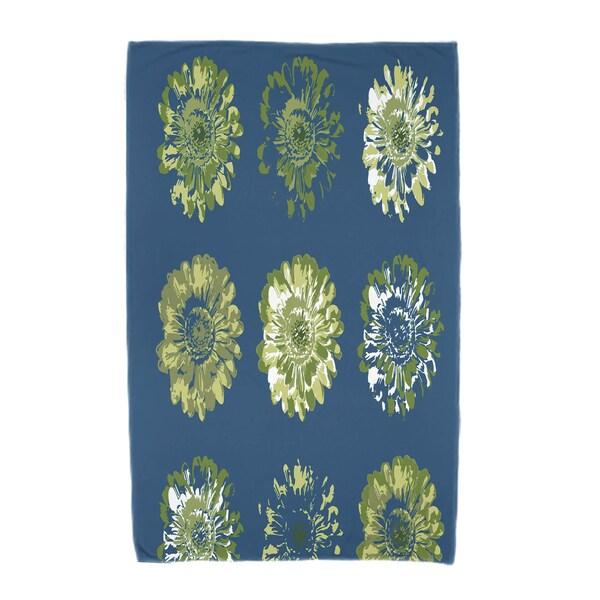 30 x 60-inch Gypsy Floral 2 Floral Print Beach Towel