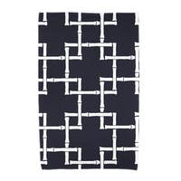 30 x 60-inch Bamboo 1 Geometric Print Beach Towel