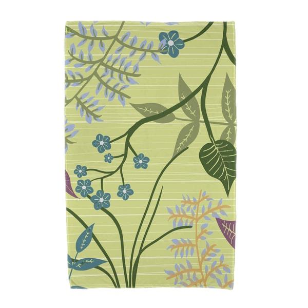30 x 60-inch Botanical Floral Print Beach Towel