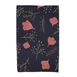 30 x 60-inch Spring Blooms Floral Print Beach Towel
