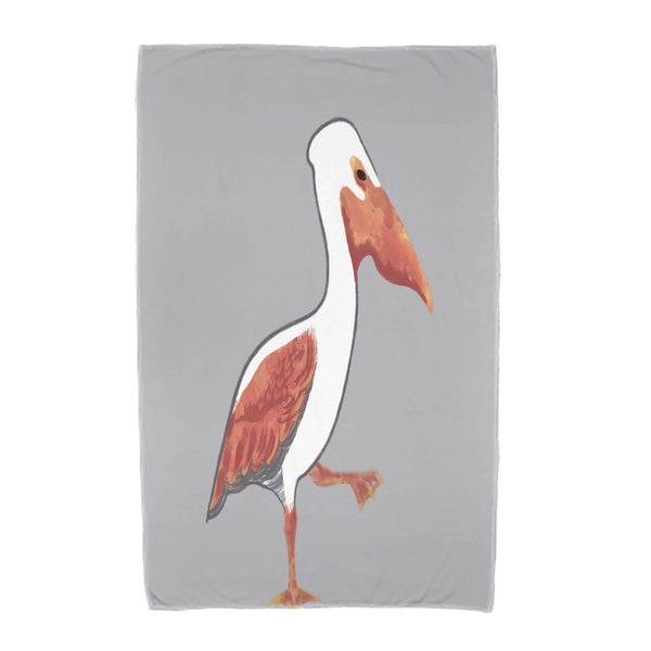 30 x 60-inch Pelican March Animal Print Beach Towel