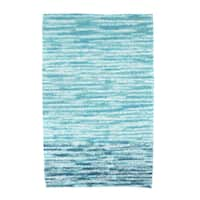 30 x 60-inch Ocean View Geometric Print Beach Towel